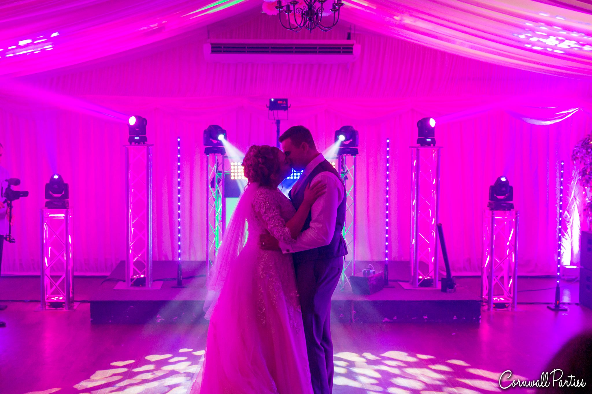 cornwall wedding disco dj photographer 33