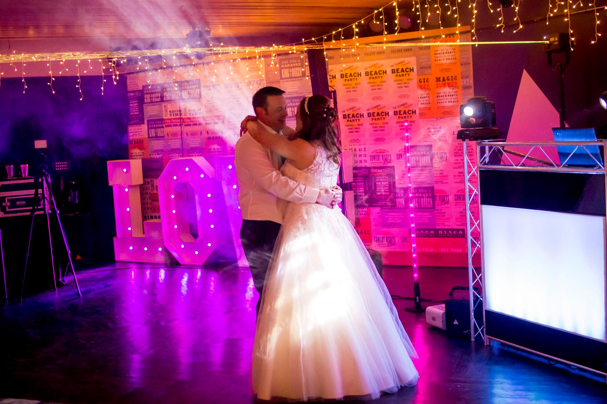 cornwall wedding disco dj photographer 14