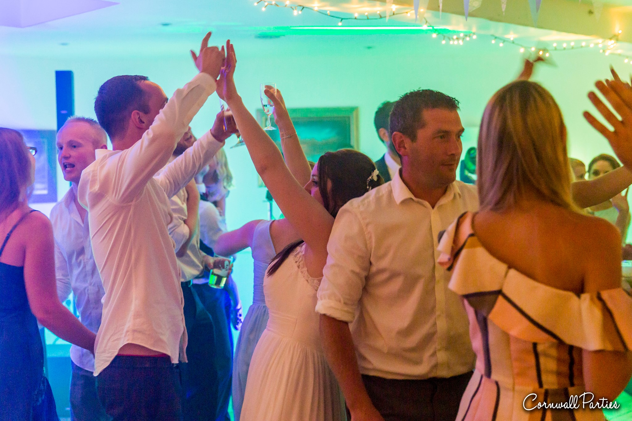 cornwall wedding disco dj photographer 31