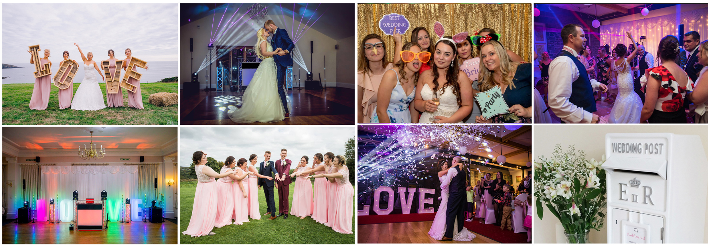ULTIMATE WEDDING PHOTOGRAPHY VIDEOGRAPHY DISCO DJ CORNWALL DEVON