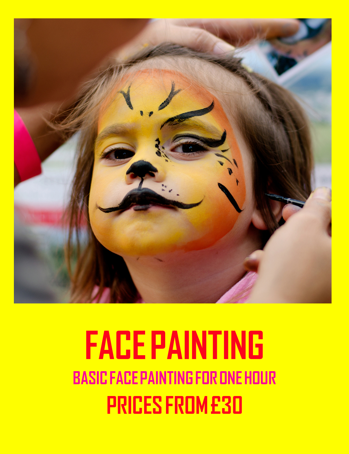 FACE PAINTING CORNWALL
