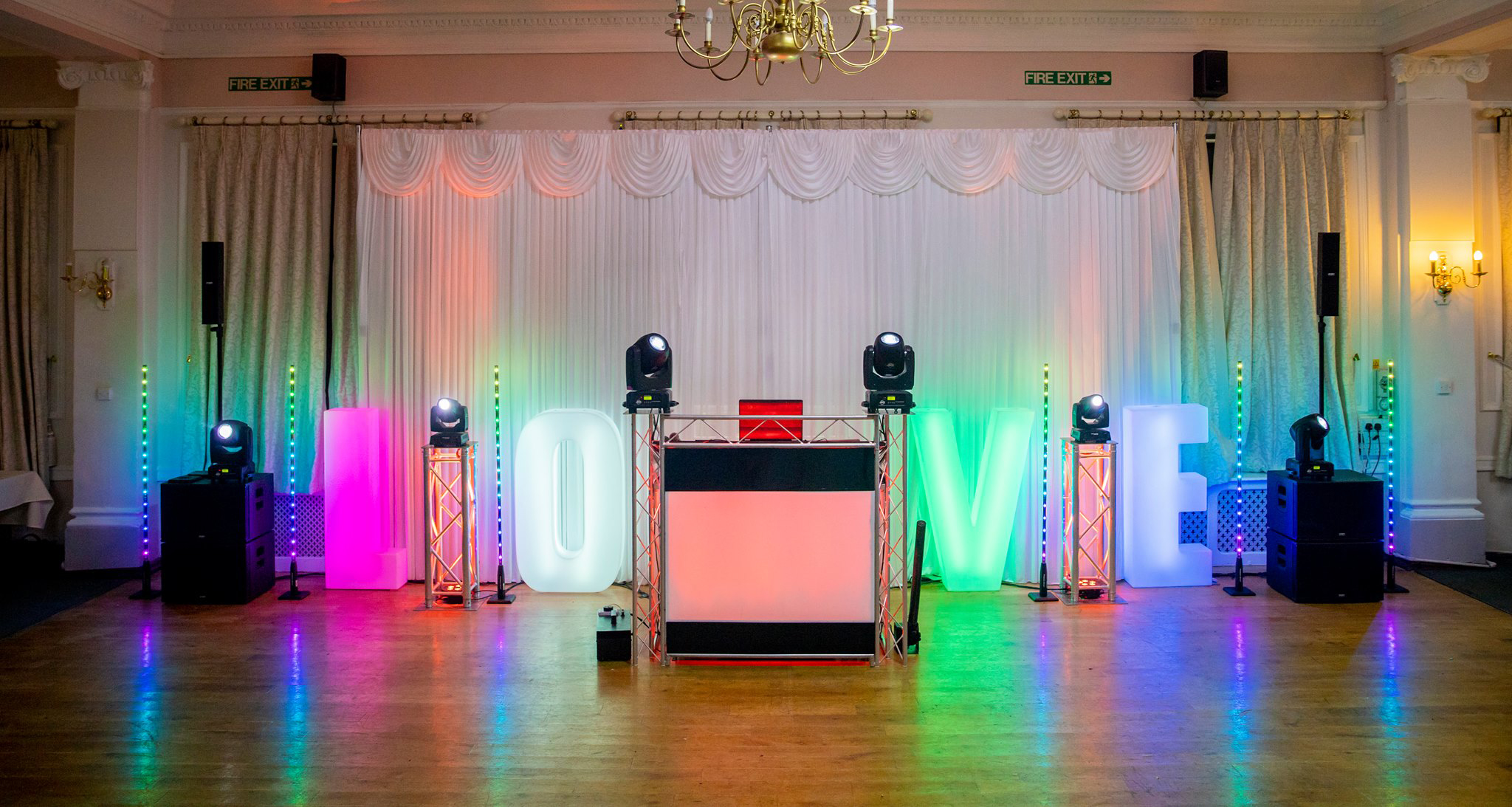 cornwall wedding disco 1